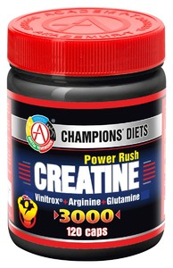 Creatine Power Rush 3000 (ACADEMY-T) 120 капс