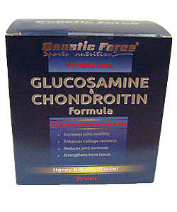 Glucosamine & Chondroitin(Genetic Force) 20*25 мл