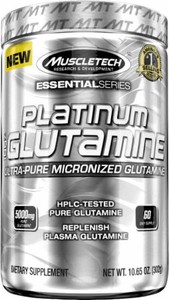 Platinum Micronize Glutamine (Muscle Tech) 300 г