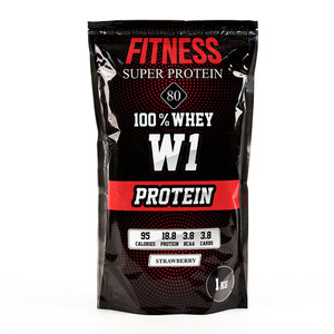 FITNESS Super Protein 80 1000g
