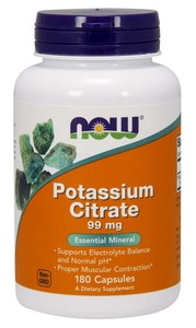 Potassium Citrate (NOW) 180 капс