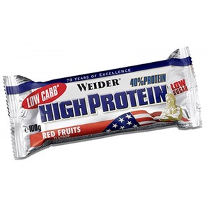 40% High Protein Low Carb Bar (Weider) 100g