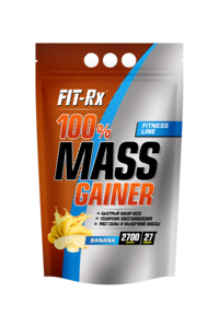 100% Mass Gainer (FIT-Rx) 2700 г