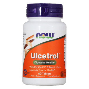 Ulcetrol with Pepsin (NOW) 60 таб