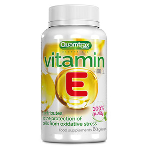 Quamtrax Nutrition Vitamin E (60 капсул)