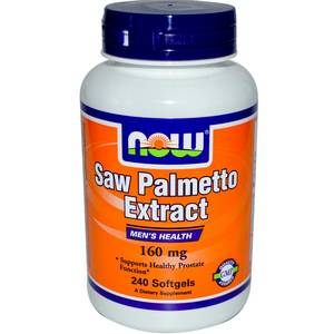 Saw Palmetto Extract 160 мг (NOW) 120 капс