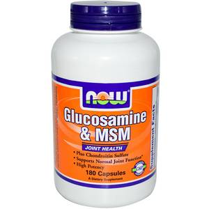 Glucosamine & MSM (NOW) 180 капс