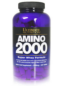 Amino 2000 (Ultimate Nutrition) 325 таб