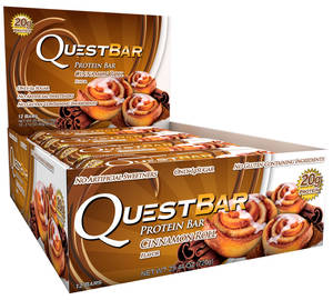 Батончики Quest Bar Natural (Quest Nutrition) 60 г 12 шт