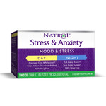 Антидепрессант Natrol Stress & Anxiety Day & Night 60 таб