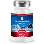 Омега-3 Масло криля NORWEGIAN Fish Oil Krill Oil Astaxanthin 60 капс